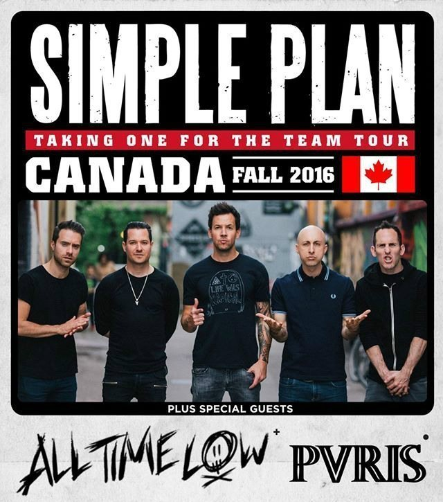 image for event Simple Plan, All Time Low, and PVRIS