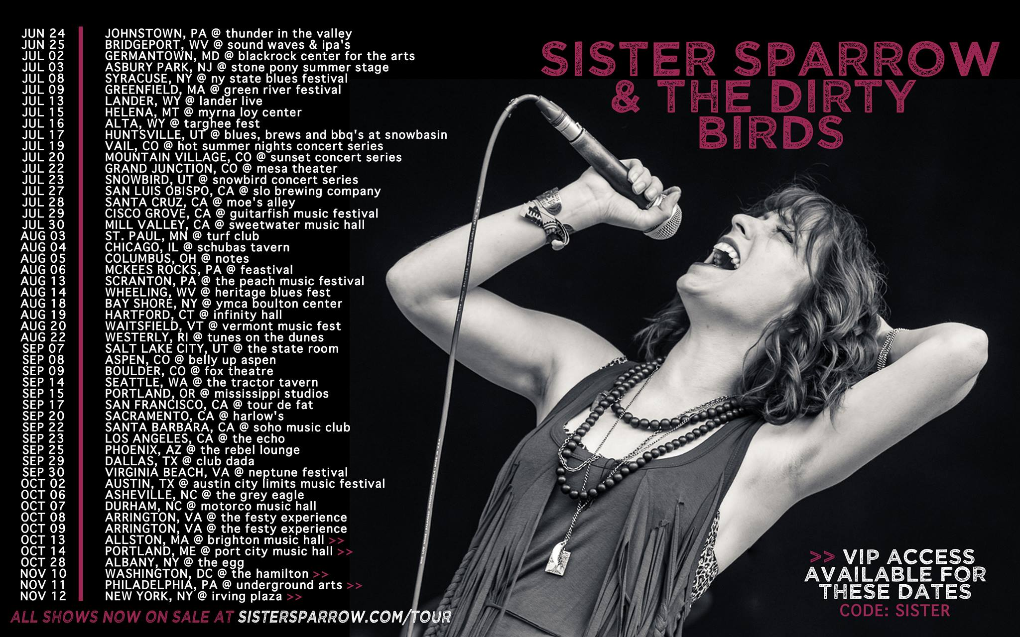 image for event Sister Sparrow & The Dirty Birds