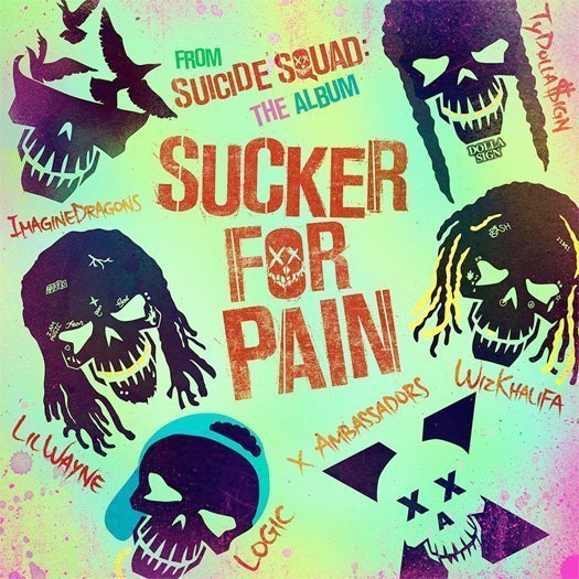 "image for article ""Sucker for Pain"" - Lil Wayne, Wiz Khalifa, Imagine Dragons, Logic, Ty Dolla $ign, and X Ambassadors [YouTube Official Audio Stream]"