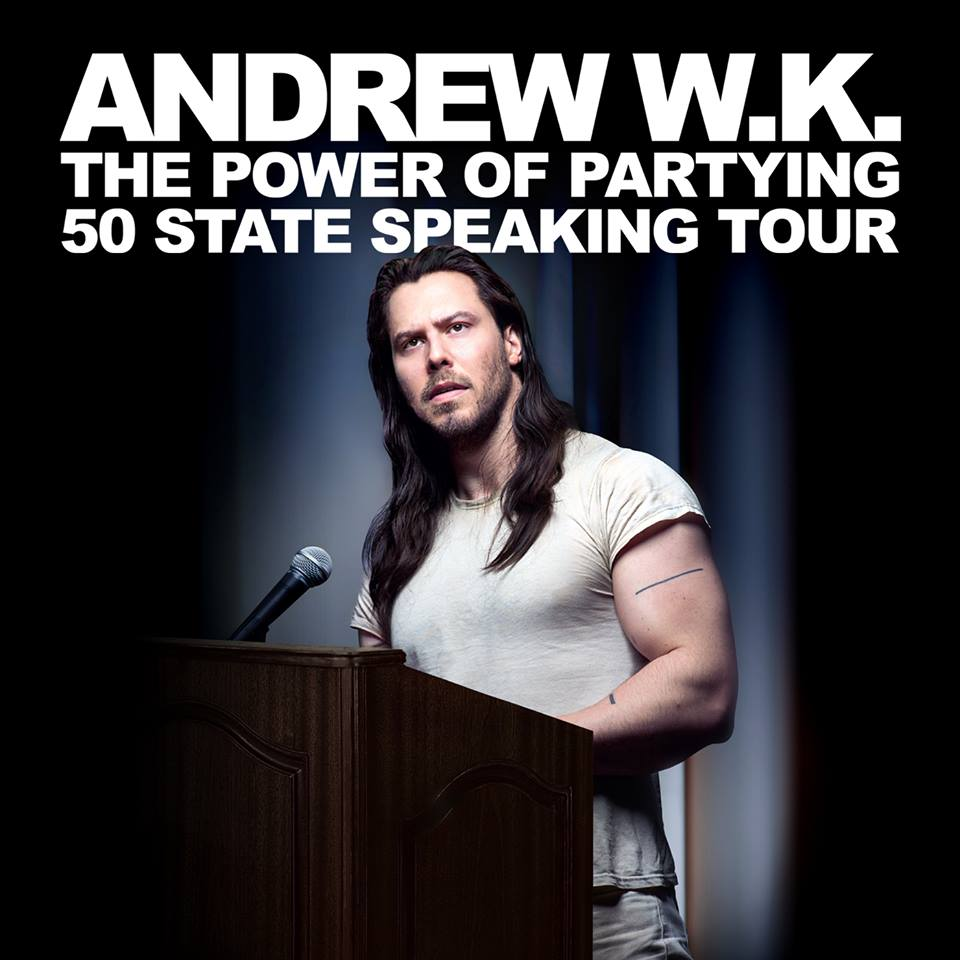 image for event Andrew W.K.