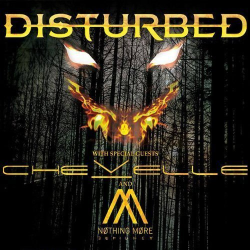 image for article Disturbed Adds 2016 Tour Dates With Chevelle and Nothing More: Ticket Presale Code Info