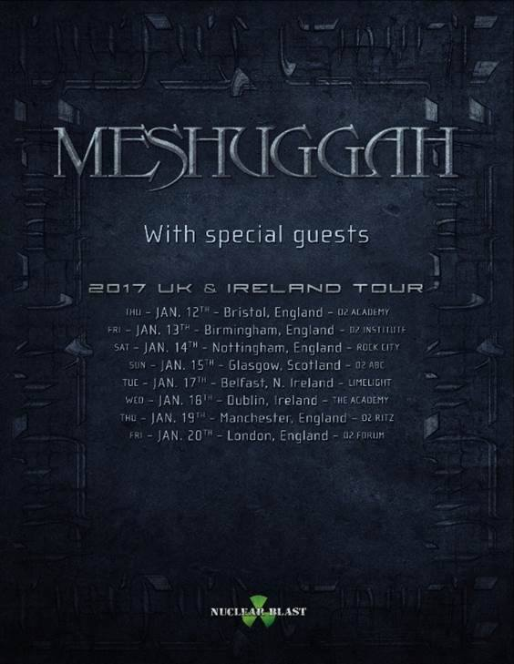 image for event Meshuggah