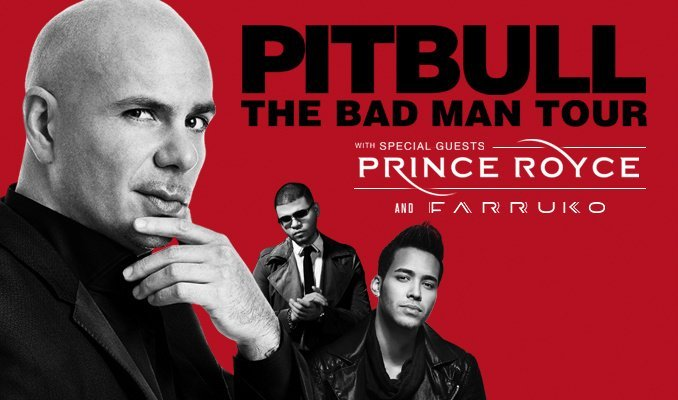 image for article Pitbull & Prince Royce Tickets High In Demand After Launching 2016 Summer Headlining Tour