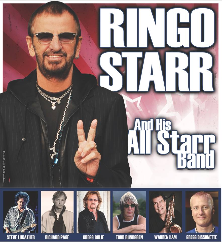 image for article Ringo Starr Adds 2016 Tour Dates With All Starr Band: Ticket Presale Code Info