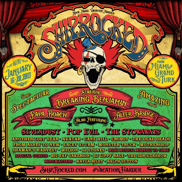 image for event ShipRocked Cruise from Miami, FL to Turks & Caicos on Jan 16-20, 2017
