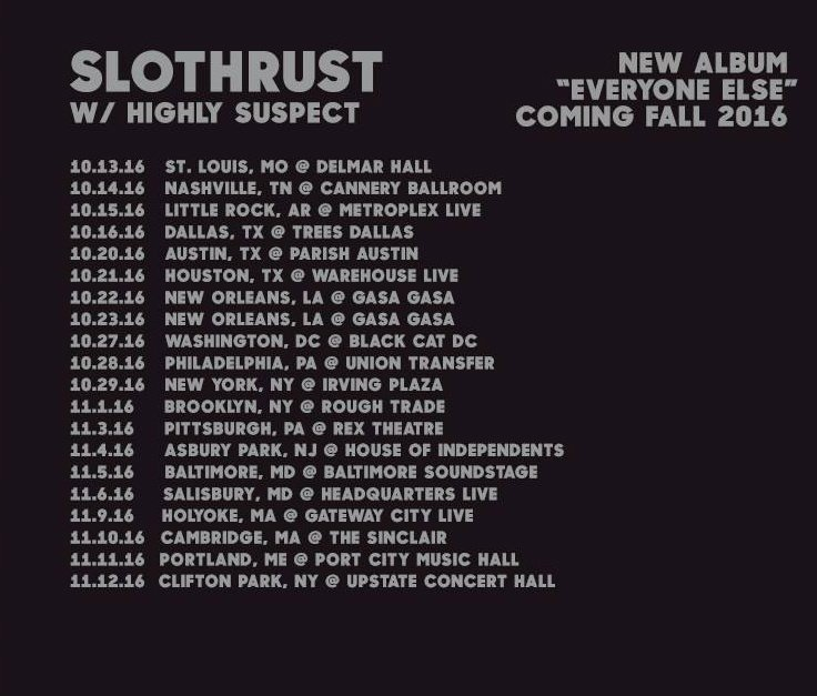 image for event Slothrust and Highly Suspect