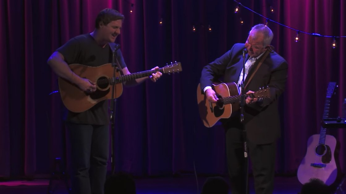 "image for article ""Paradise"" - Sturgill Simpson and John Prine at GRAMMY Museum in Los Angeles, CA [YouTube Video]"