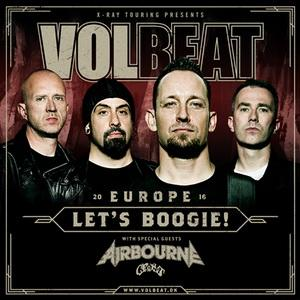 image for event Volbeat and Crobot in Leipzig, Germany on Nov 12, 2016