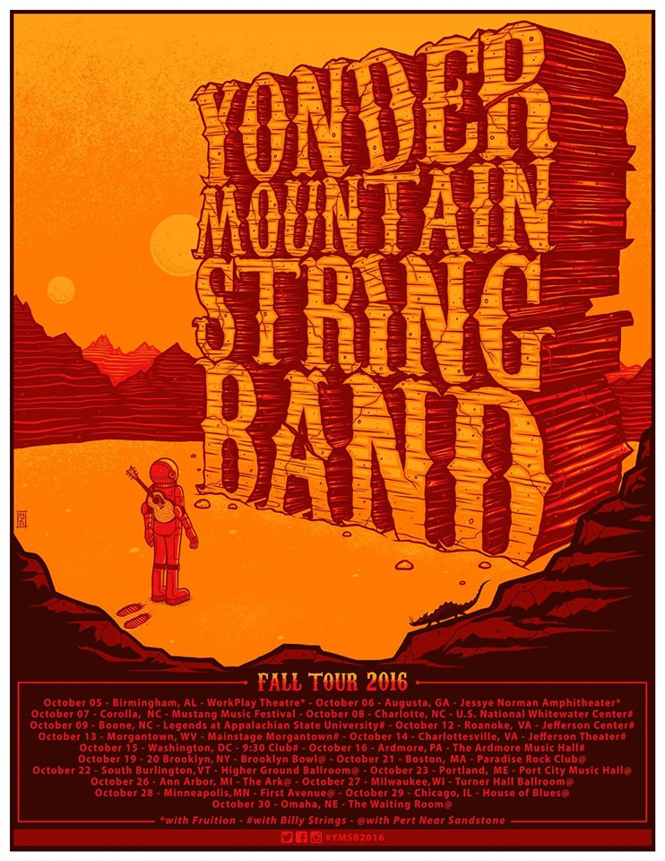 image for event Yonder Mountain String Band and Pert Near Sandstone