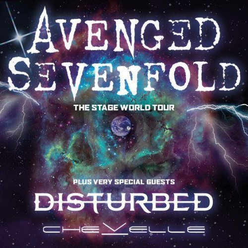 image for event Avenged Sevenfold, Disturbed, and Chevelle