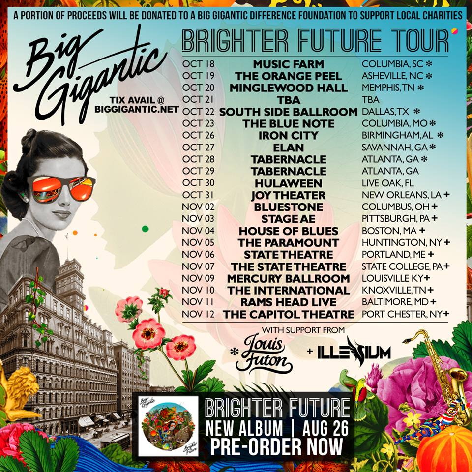image for article Big Gigantic Sets 2016 'Brighter Future' Tour Dates: Ticket On Sale Info