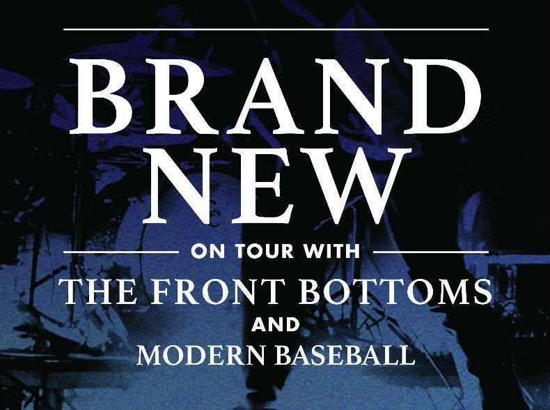 image for article Brand New, Front Bottoms, and Modern Baseball Add 2016 Tour Dates: Ticket Presale Code Info