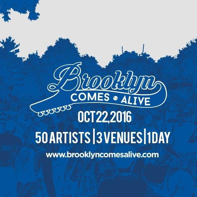 image for article Brooklyn Comes Alive Music Festival to Feature Talented and Unique Artist Lineups in Williamsburg on October 22, 2016