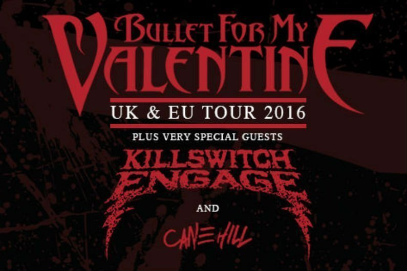 image for article Bullet for My Valentine, Killswitch Engage, and Cane Hill Add 2016 Tour Dates in the UK: Tickets Now On Sale