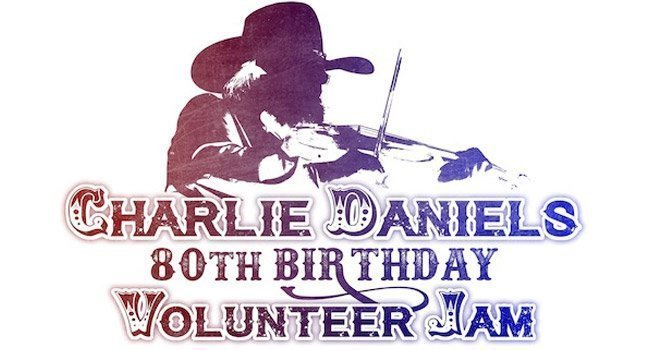 image for event Charlie Daniels 80th Birthday Volunteer Jam