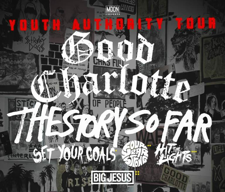 image for article Good Charlotte Sets 2016 'Youth Authority' Tour Dates: Ticket Presale Code Info