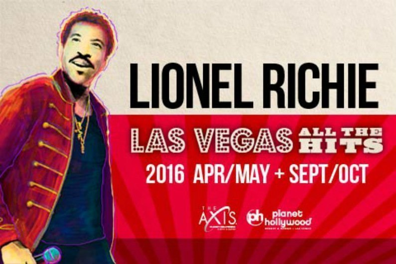 image for article Lionel Richie Tickets Now On Sale For Extended 2016 Las Vegas Residency