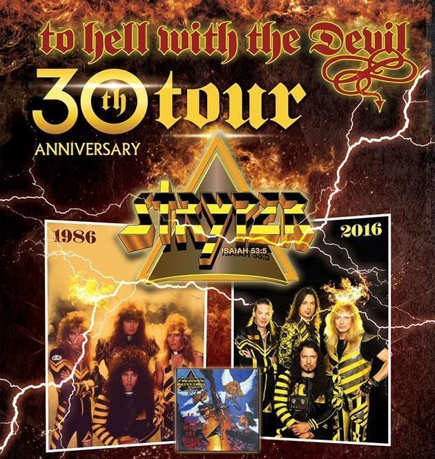 image for article Stryper Plots 30th Anniversary 'To Hell With The Devil' Tour Dates: Ticket Presale Code Info
