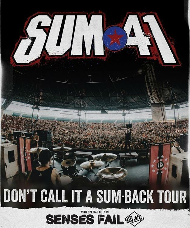 image for article Sum 41 Set 'Don't Call It A Sum Back' Tour Dates With Senses Fail and As It Is: Ticket Presale Code Info
