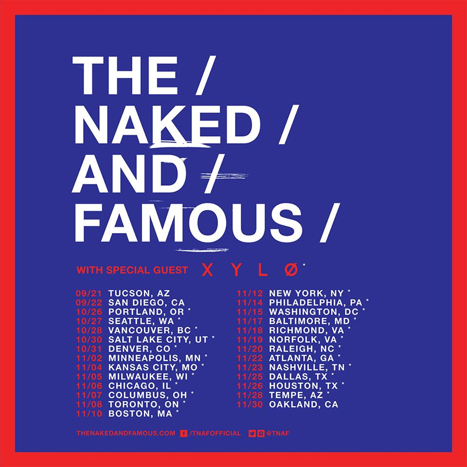 image for event The Naked and Famous and Xylo