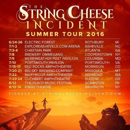 image for article The String Cheese Incident 2016 Summer Playlist [SoundCloud Audio Stream]
