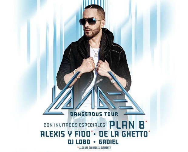 image for article Yandel Sets 2016 'Dangerous' Tour Dates: Ticket Presale Code Info