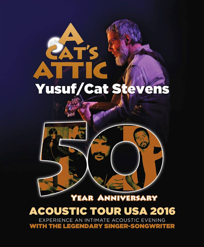 image for article Yusef / Cat Stevens Plans 2016 Tour Dates: Ticket Presale Code Info