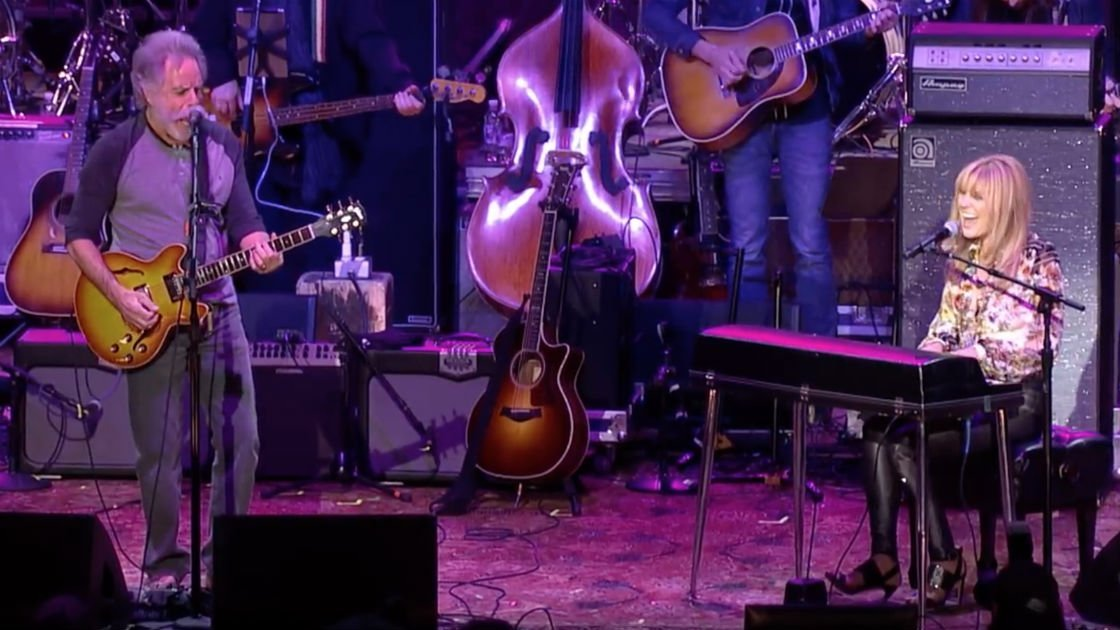 "image for article ""Friend of the Devil"" - Bob Weir and Grace Potter from Dear Jerry Celebration at Merriweather Post Pavilion on May 14, 2015 [YouTube Video]"