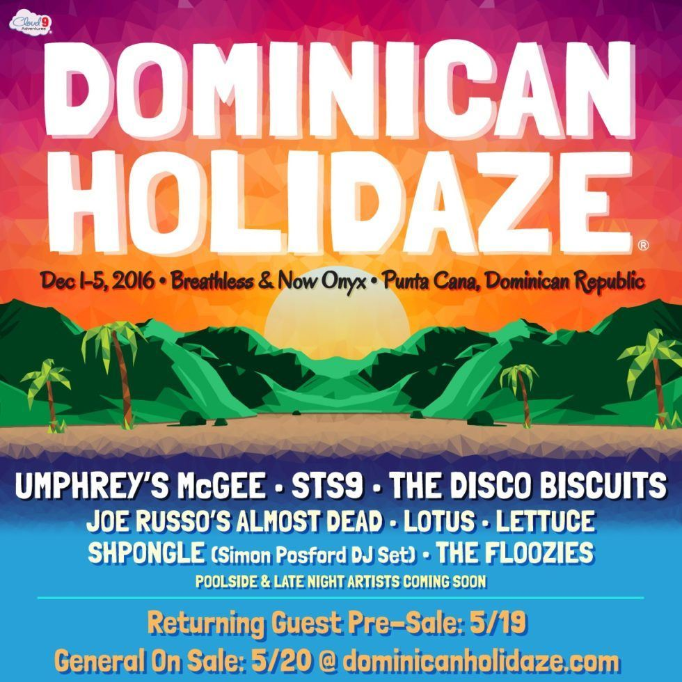 image for event Dominican Holidaze