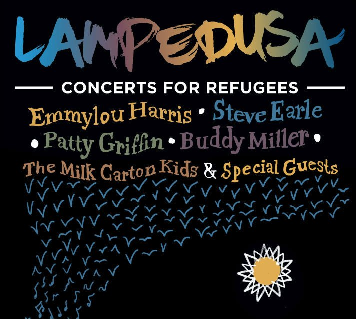 image for article Tickets Now On Sale: Lampedusa Concerts for Refugees 2016 Tour with Emmylou Harris, Steve Earle, Robert Plant, and More