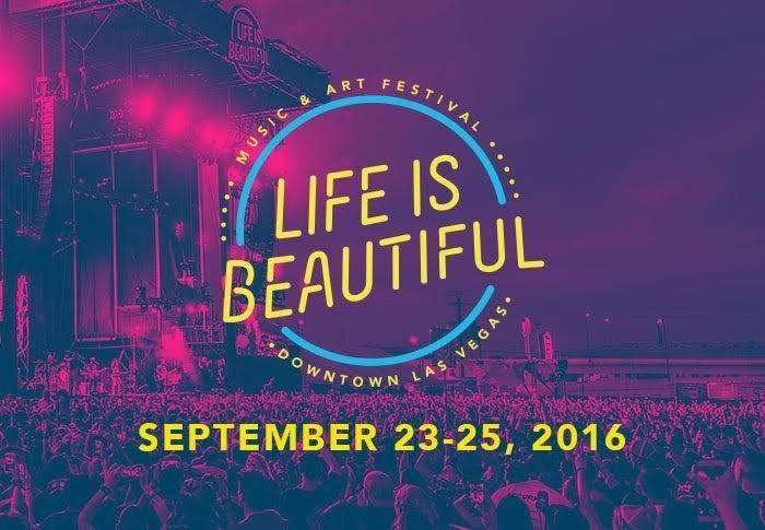 image for event Life Is Beautiful Festival in Las Vegas, NV on Sep 25, 2016