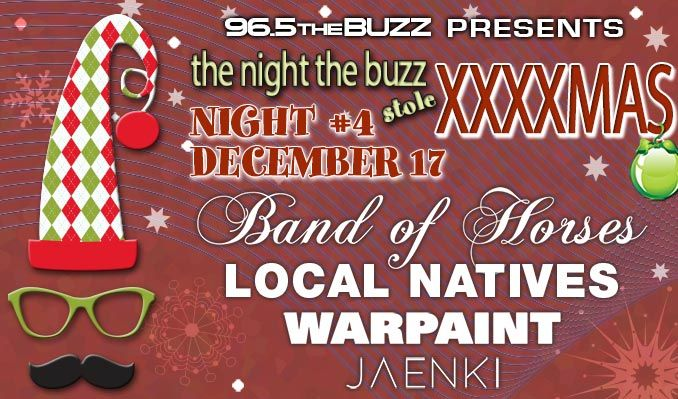 image for event The Night The Buzz Stole XXXXmas