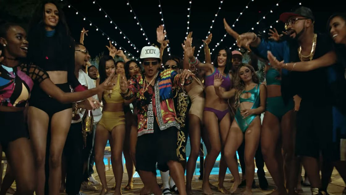 "image for article ""24K Magic"" - Bruno Mars [YouTube Music Video]"