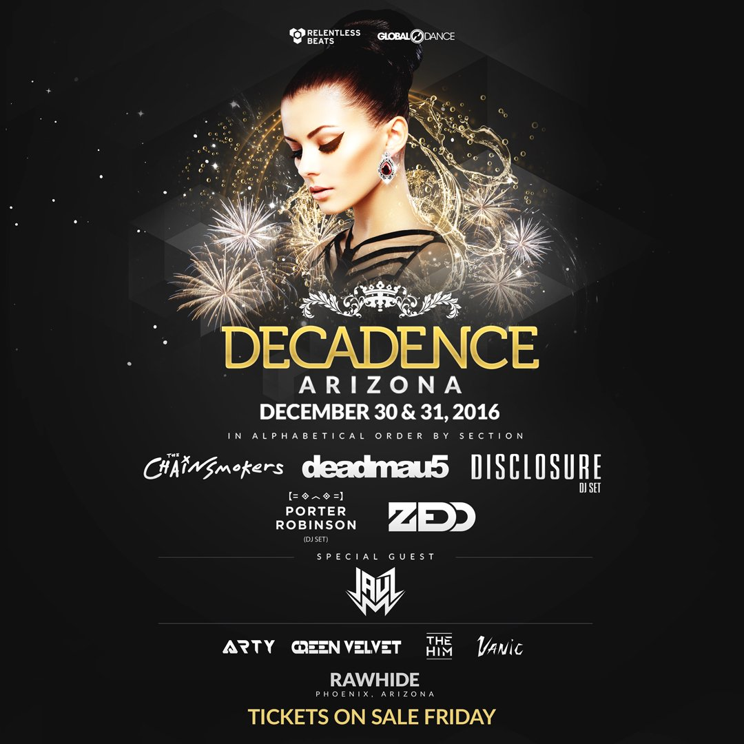image for event Decadence Music Festival