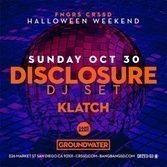 image for event Disclosure and Klatch