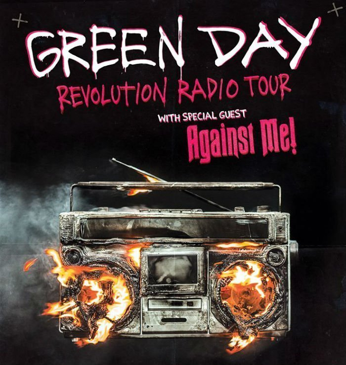 image for article Green Day and Against Me! Add 2017 Tour Dates for North America: Ticket Presale Code Info