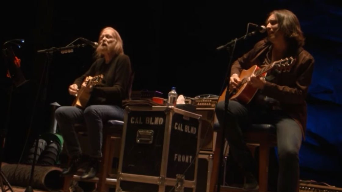 "image for article ""These Days"" - Gregg Allman with Scott Sharrard at Laid Back Festival from Red Rocks on Sep 25, 2016 [YouTube Official Video]"