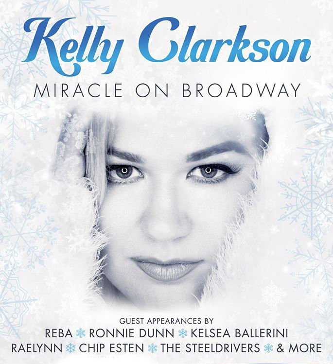 image for event Miracle on Broadway Holiday Concert: Kelly Clarkson and More