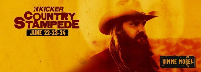 image for event Country Stampede Music Festival: Chris Stapleton, Cody Johnson, Brothers Osborne, and More