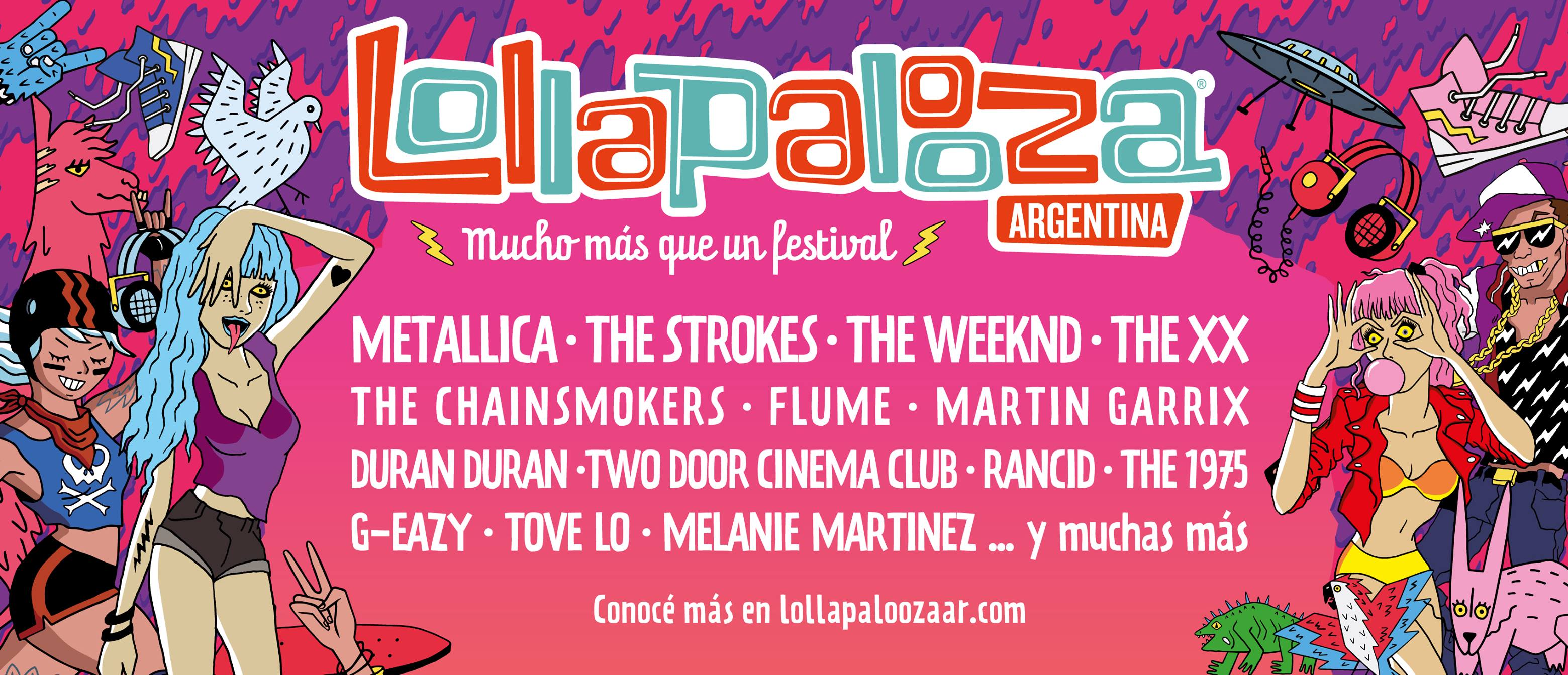 image for event Lollapalooza Argentina in Buenos Aires, Argentina on Mar 31, 2017
