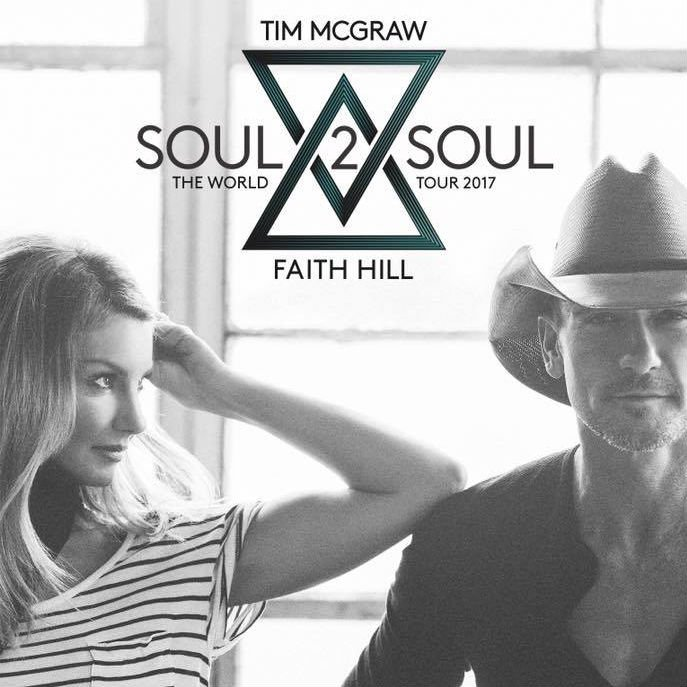 image for article Tim McGraw & Faith Hill Plan 2017 'Soul 2 Soul' Tour Dates: Ticket Presale Code Info