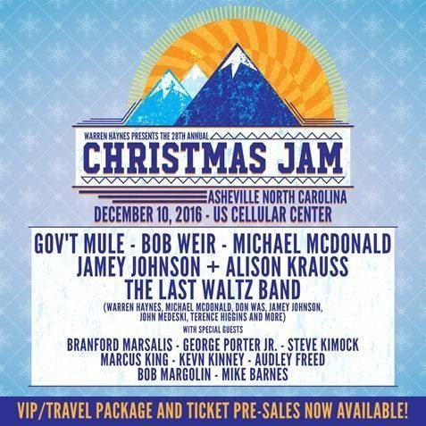 image for event Warren Haynes 28th Annual Christmas Jam