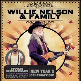 image for event Willie Nelson, Lukas Nelson and Promise of the Real, and Ryan Bingham