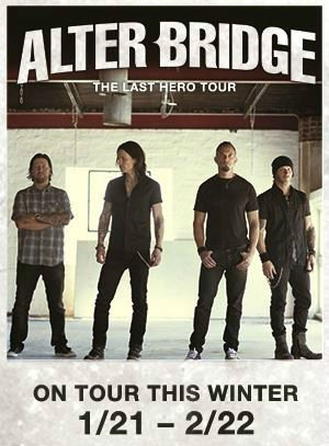 image for article Alter Bridge Add 2016-2017 'The Last Hero' Tour Dates: Ticket Presale Code Info