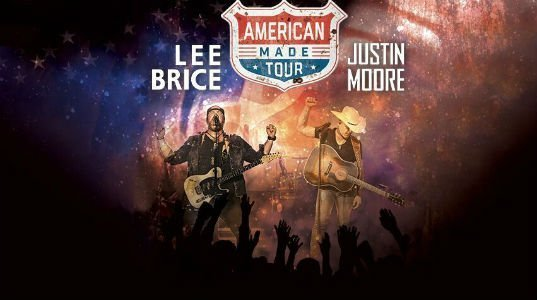 image for event Lee Brice, Justin Moore and William Michael Morgan