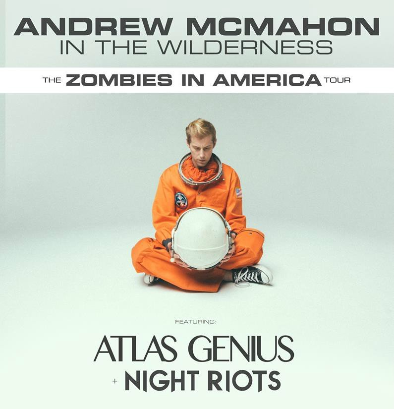 image for event Andrew McMahon in the Wilderness