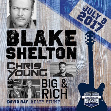 image for event Blake Shelton, Chris Young, Big & Rich, and Adley Stump
