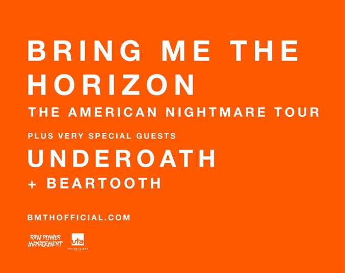 image for article Bring Me The Horizon Sets 2017 Tour Dates With Underoath and Beartooth: Ticket Presale Code Info