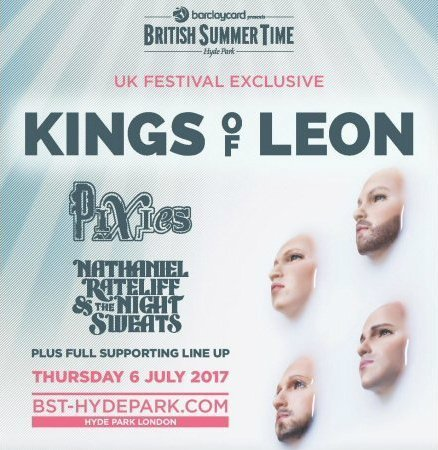 image for event Kings of Leon, Pixies, and Nathaniel Rateliff
