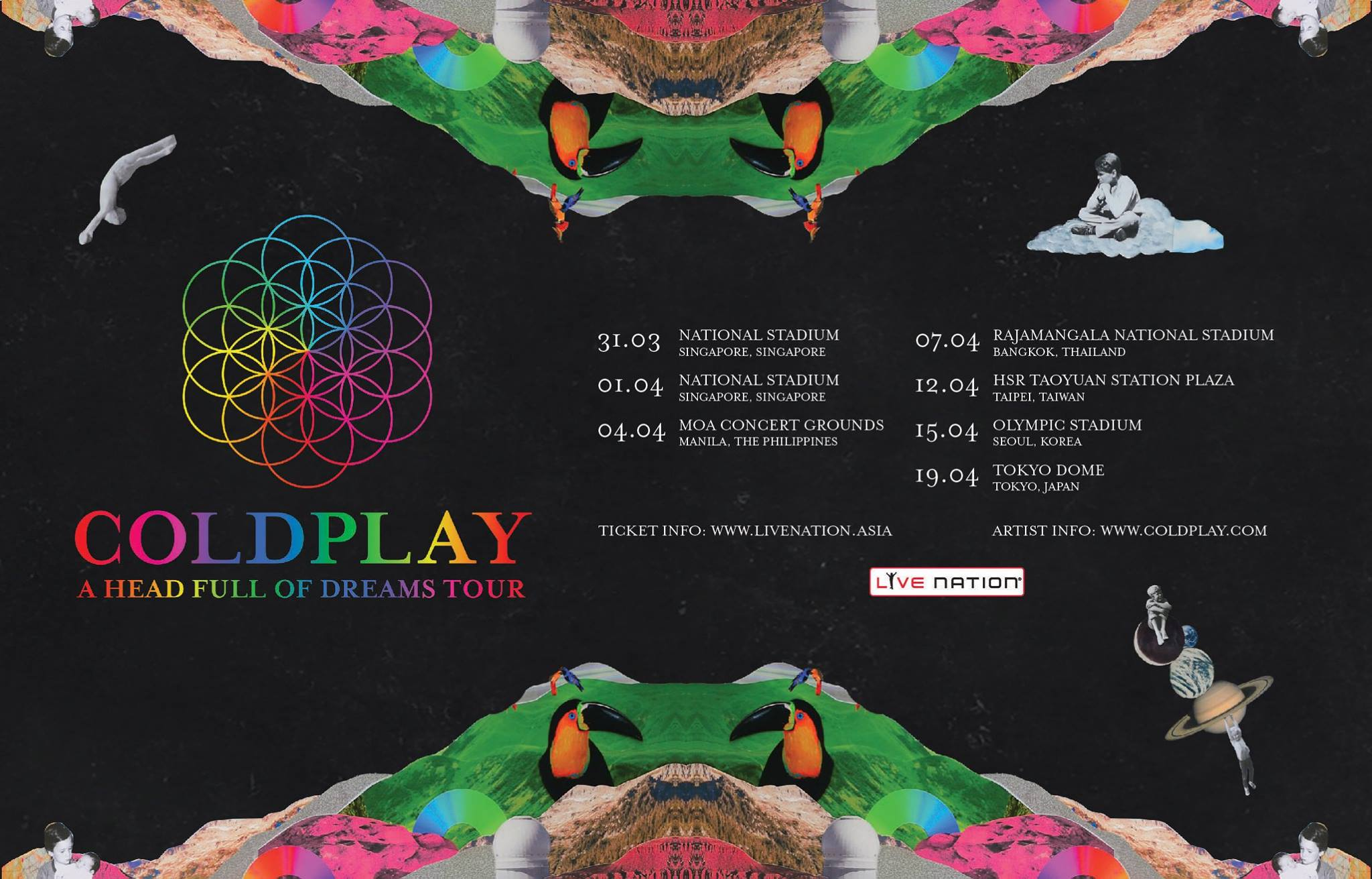 image for event Coldplay